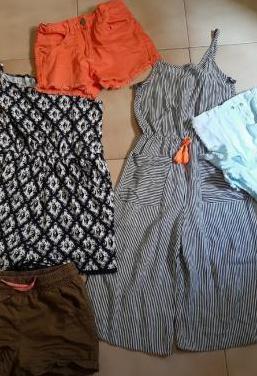 Lote ropa niña t.5-7 años
