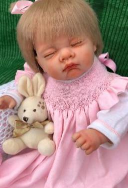 Muñeca bebe reborn vinilo niña