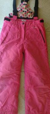Pantalon peto niña nieve 5/6 años .