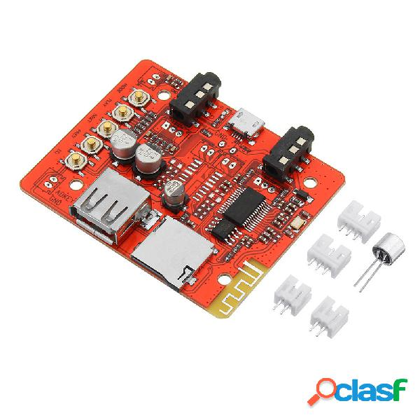 Audio digital estéreo amplificador módulo placa inalámbrica bluetooth receptor adaptador usb soporte tf aux