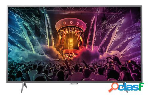 Philips led 4k 55pus6401 silver