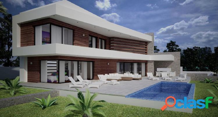 Proyecto - villa de estilo moderno con vistas al mar