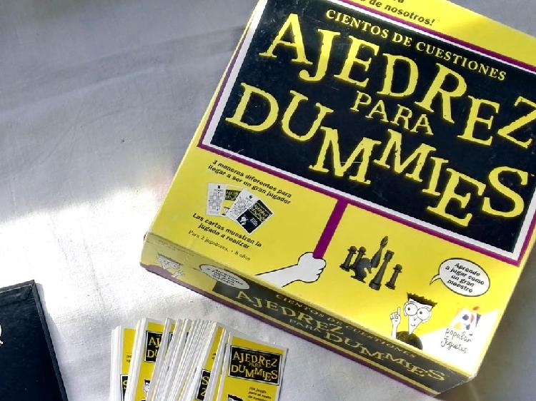 Ajedrez para dummies (a estrenar) juego de mesa aj