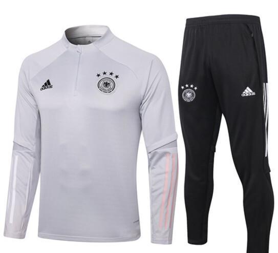 Alemania 2021 chandal de futbol blanco,gris mas baratos