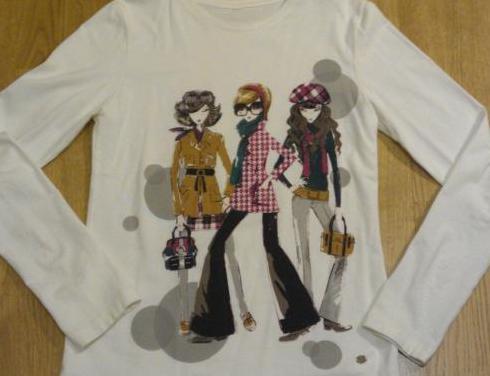 Camiseta marca mayoral manga larga.
