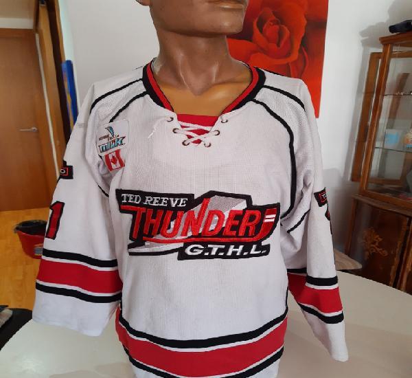 Camiseta oficial liga hockey hielo de canada. vintage