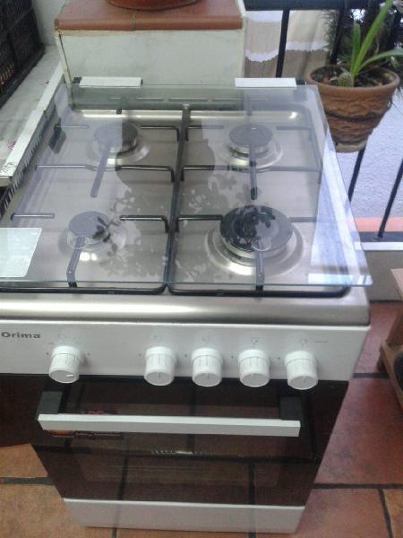 Cocina a gas natural