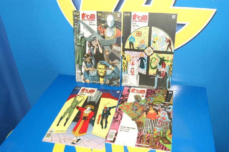 Coleccionismo comic doom patrol nº 1 al 4 dc