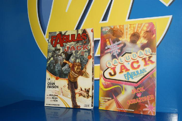 Coleccionismo comic fabulas-jack-dos tomos
