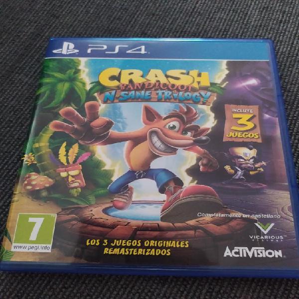 Crash bandicoot ps4
