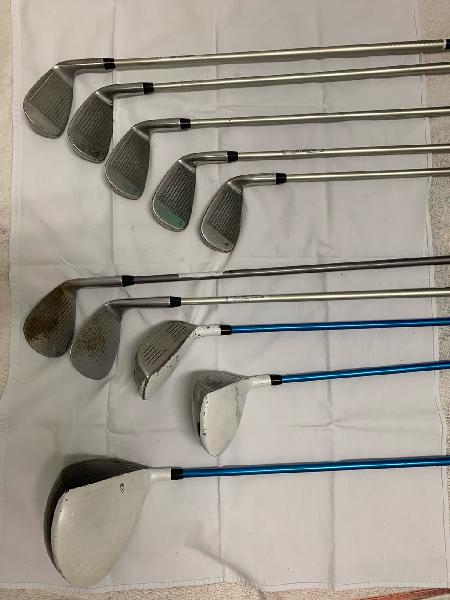 Golf. juego completo uskids ts v10. zurdo.
