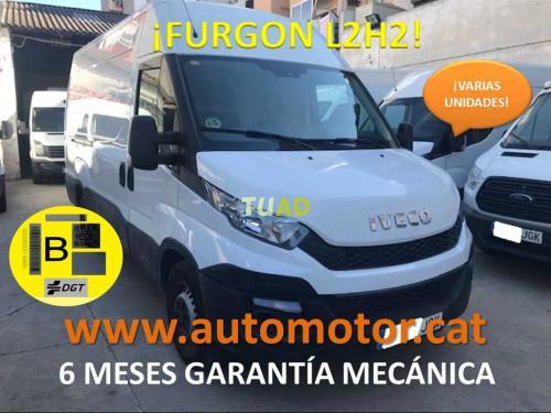 Iveco daily furgón 35s13 l2h2 12.0