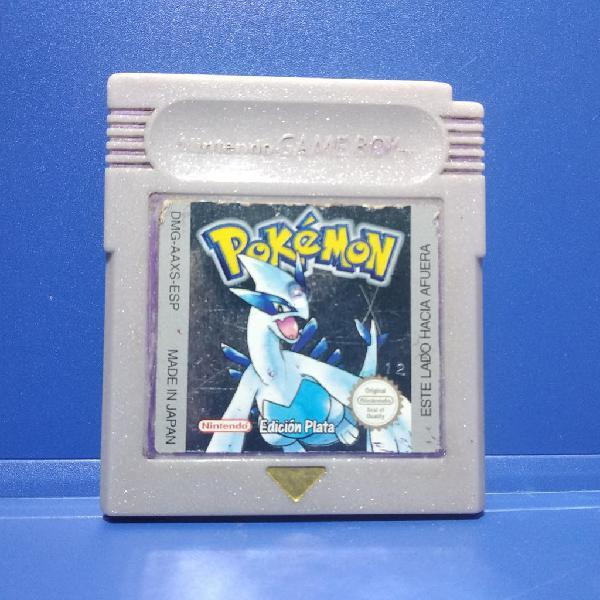 Juego game boy color pokémon edición plata /silver
