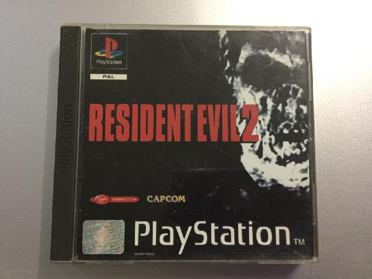 Juego resident evil 2 ps