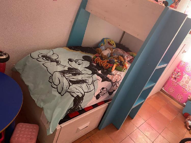 Litera cama tren