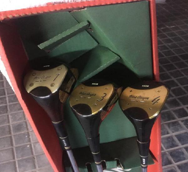 Palos golf driver- marca mac gregor (#1+ #3+ #4)