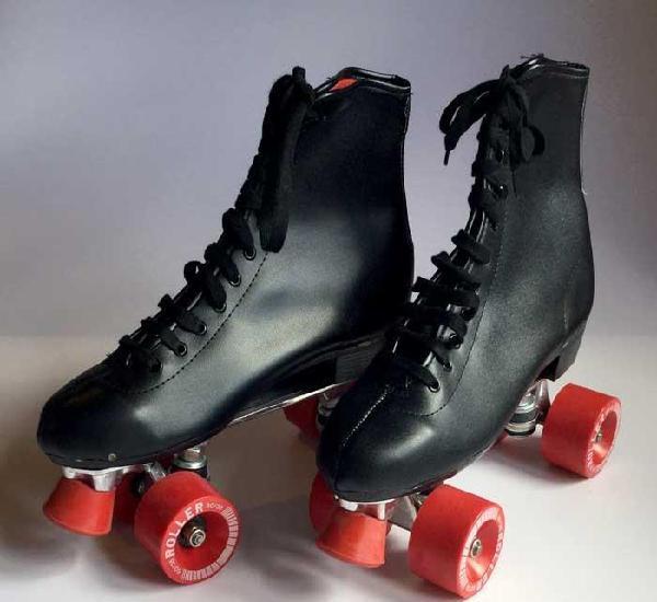 Patines de bota vintage roller skates años 80 / 90 – 10 y