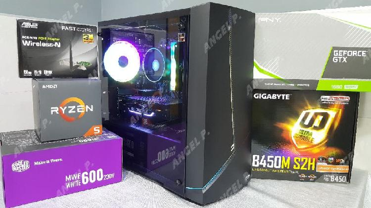 Pc gamer ryzen 5 2600 gtx 1660super 16gb ram