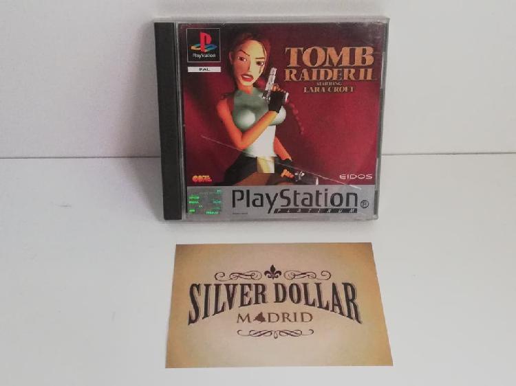 Playstation: tomb raider ii pal (esp) psx ps1