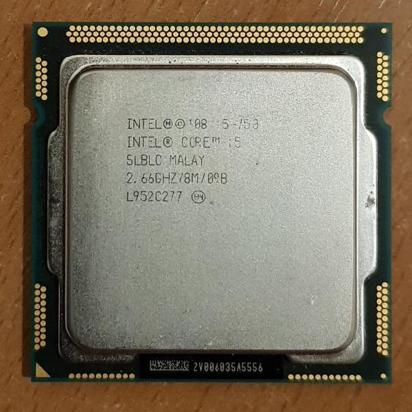 Procesadores intel core i5 socket 1156