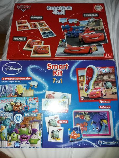 Puzzles y juegos de Disney