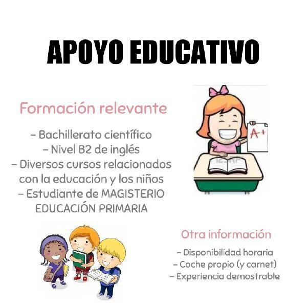 Refuerzo educativo primaria
