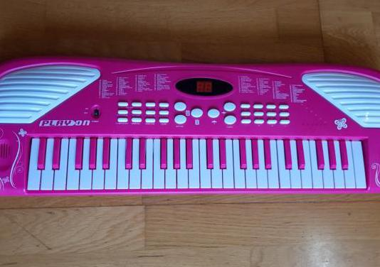 Teclado infantil play on piano musical