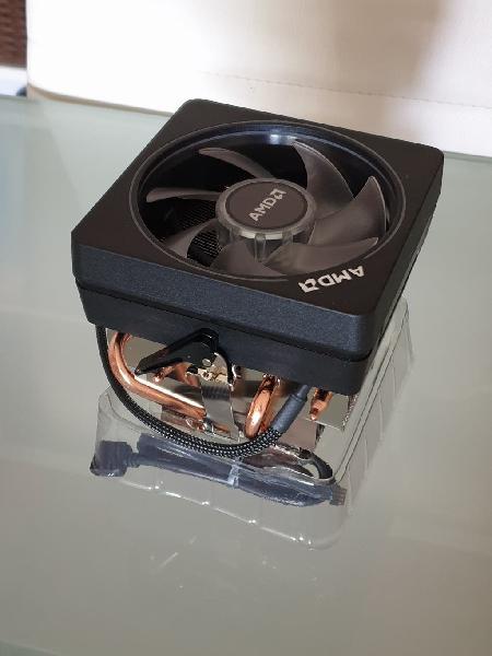 Ventilador - disipador amd wraith prism rgb led
