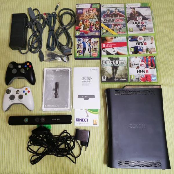 Xbox 360 elite + accesorios