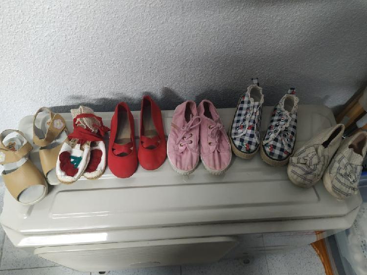 Zapatos talla 27 niña