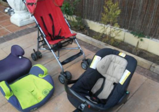 Conjunto de sillas paseo niños