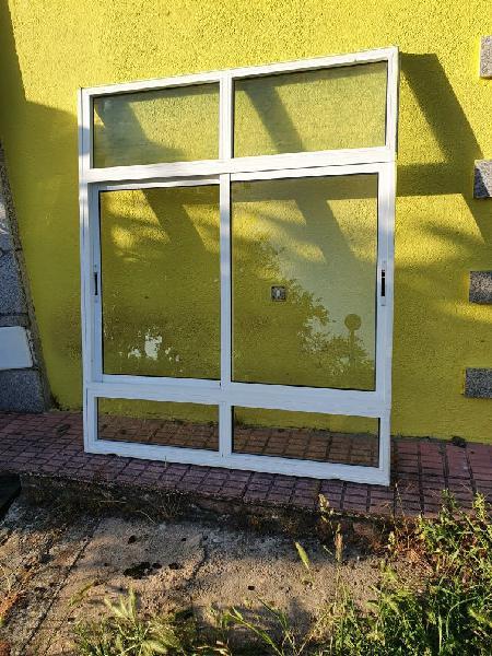 Correderas puerta aluminio