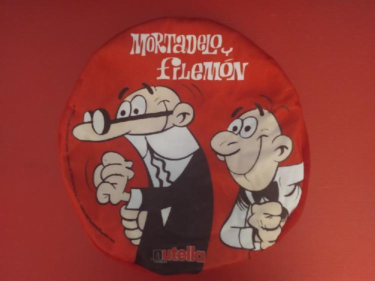 Mochila bolso mortadelo y filemon nutella