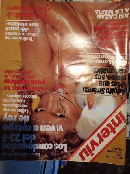 Revistas interview años 80