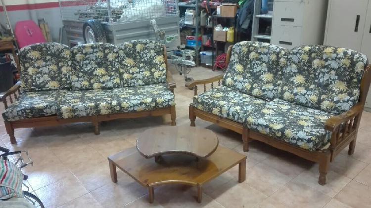 Sofa rustico echo a medida