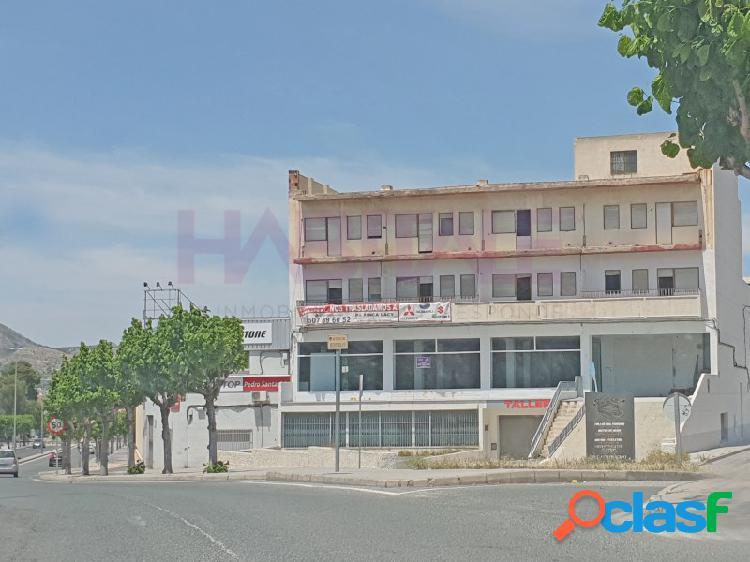 Elda petrel. avd. mediterraneo nave-local 2.523 m2 (tres plantas) precio 553.500 euros