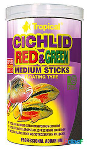 Tropical cichlid rojo & verde m 250 ml 250 ml