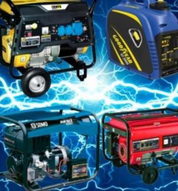 Generadores gasolina y diesel