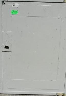 Puerta armario de gas