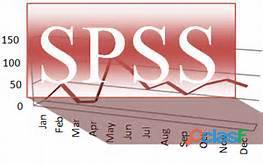 Clases on line para ayudarte con el programa spss
