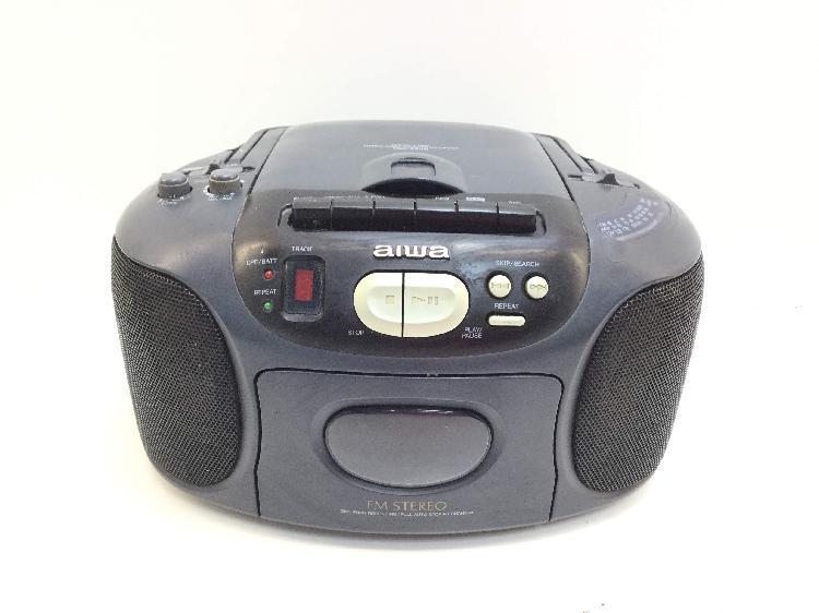 Radio cd cassette otros aiwa csd-ex110