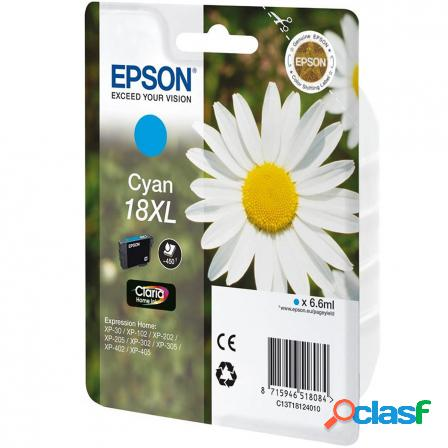 Cartucho epson 18xl 6.6ml cian - margarita