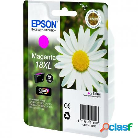 Cartucho epson 18xl 6.6ml magenta - margarita