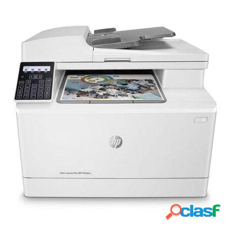 Multifuncion hp wifi con fax laserjet pro color m183fw - 16/16ppm - sc