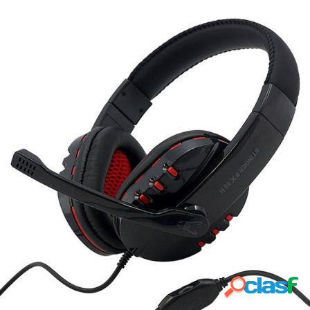 Auriculares gaming woxter stinger fx 80 h - drivers 40mm - microfono o