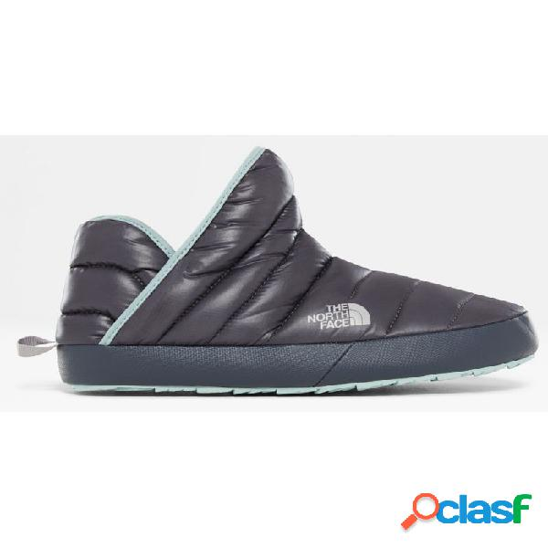 Pantuflas the north face thermoball traction mujer gris 40