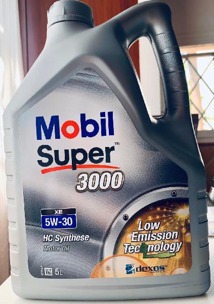 Aceite motor mobil super 3000 xe 5w30 5 litros