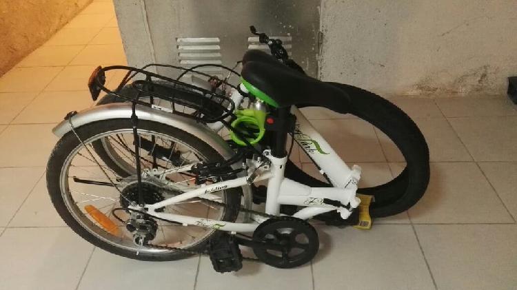 Bicicleta plegable + regalos