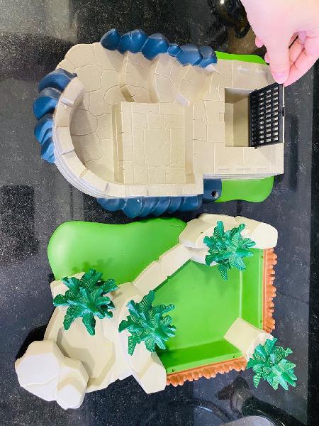 Bosque y fortaleza playmobil