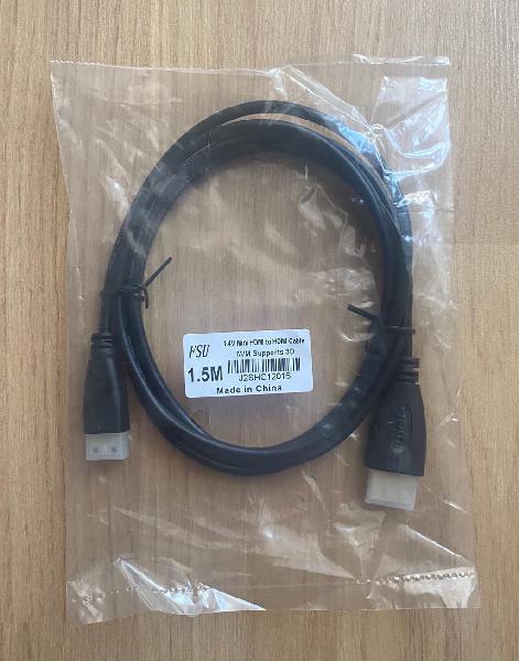 Cable de mini hdmi a hdmi